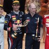 The guys are drinking a lot of Red Bull: Webber
