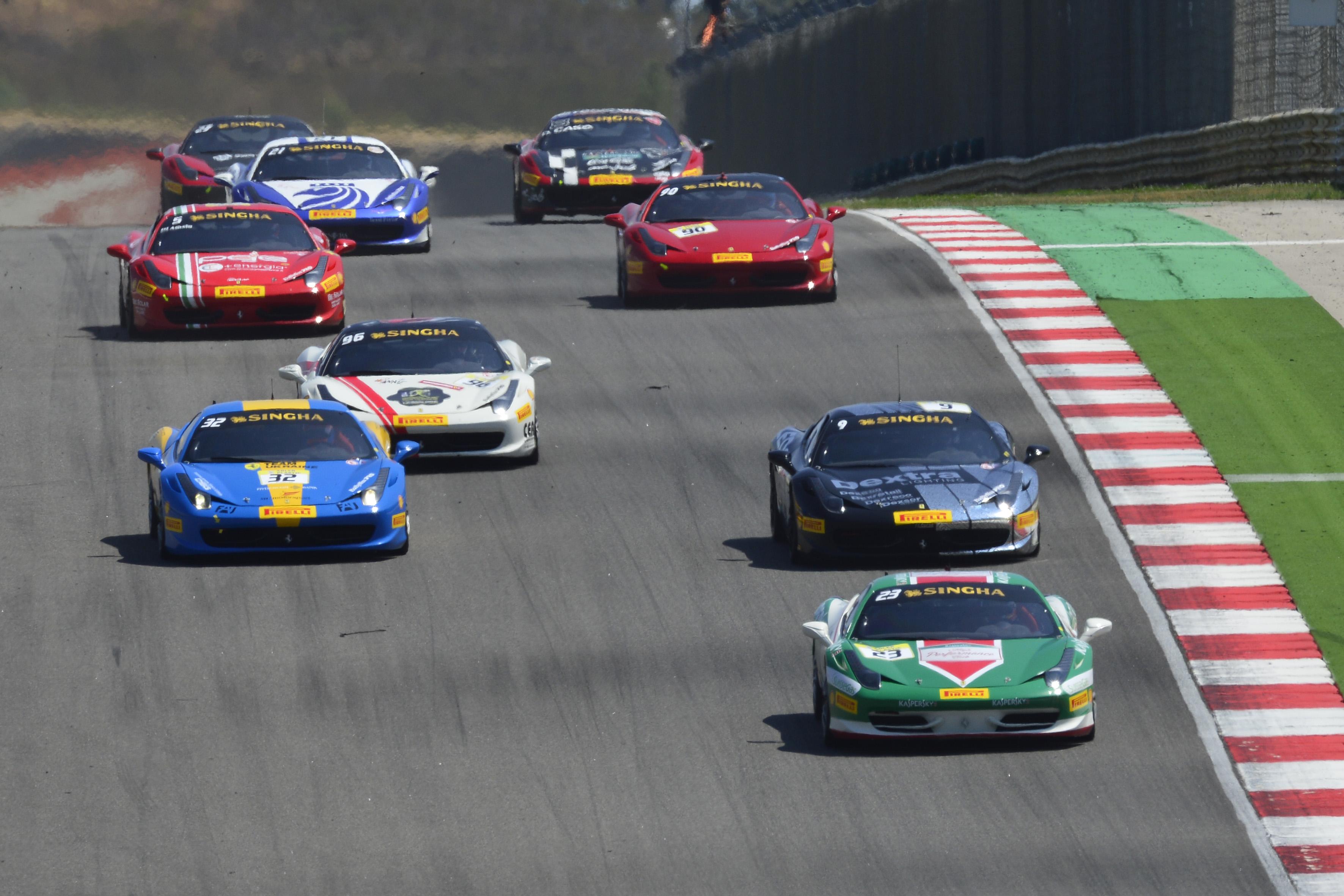 Ferrari Challenge 2013 India In F1