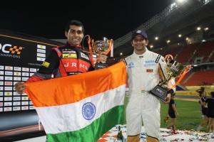 ROC Narain and Karun to form Team India 2013