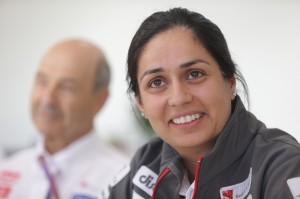 File photo of Monisha Kaltenborn by Sauber F1 team