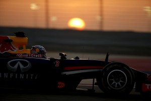 Red Bull continues to face issues at the Bahrain Testing which ended Sunday. An FIA photo