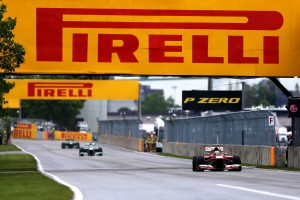A file photo of 2013 Canadian GP action. Image by Pirelli Motorsports