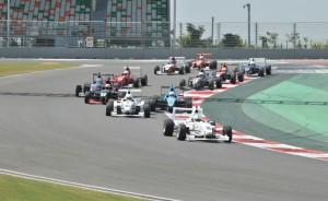 MRF FF1600cc race at BIC on Sunday. An Adrenna Communications image