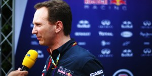 Christian Horner. An Infiniti Red Bull Racing image