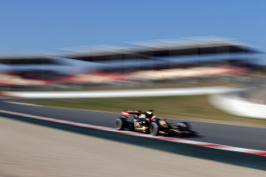 Pastor Maldonado (VEN) Lotus F1 E23. Formula One Testing, Day 1, Thursday 19th February 2015. Barcelona, Spain. A Lotus F1 team image