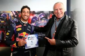 Wings for Life World Run 2015- Dietrich Mateschitz and Daniel Ricciardo (1)