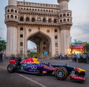Photo courtesy Infiniti Red Bull Racing team from EdelmanDigital