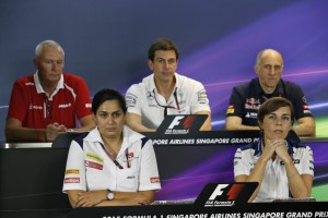 Friday Press Conference image by FIA.