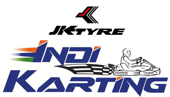 JK Tyre IndiKarting logo courtesy RR Motorsports