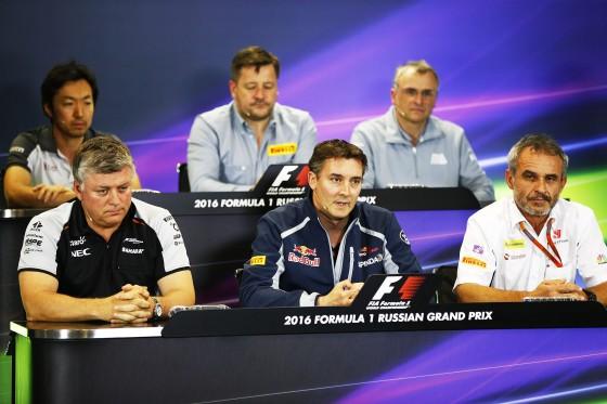 Otmar of Force India at Fri PC 29apr2016 Sochi FIA pic
