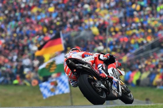 ANDREA DOVIZIOSO ITA DUCATI RACING TEAM DUCATI MotoGP  GP Deutschland 2016 (Circuit Sachsenring) 15-17/07.2016  photo: MICHELIN
