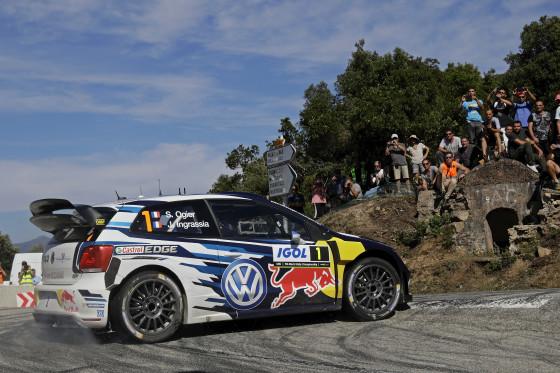 Sébastien Ogier/Julien Ingrassia (F/F), Volkswagen Polo R WRC | Photo: Roeseler