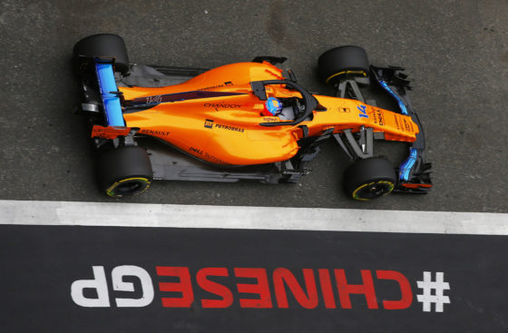 mclaren boys put in the extra miles during fp sessions and hoping