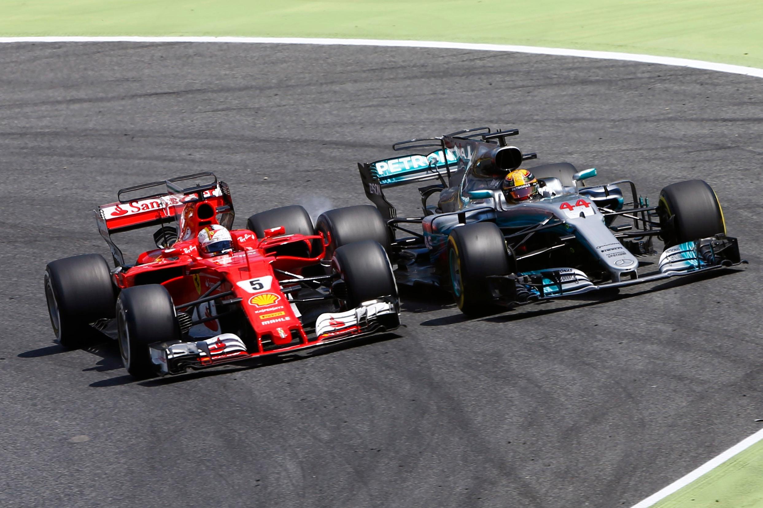 Ferrari-Mercedes renew battle in Barcelona; Red Bull in frame as one ...
